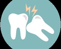 Bolestivý zubný kaz