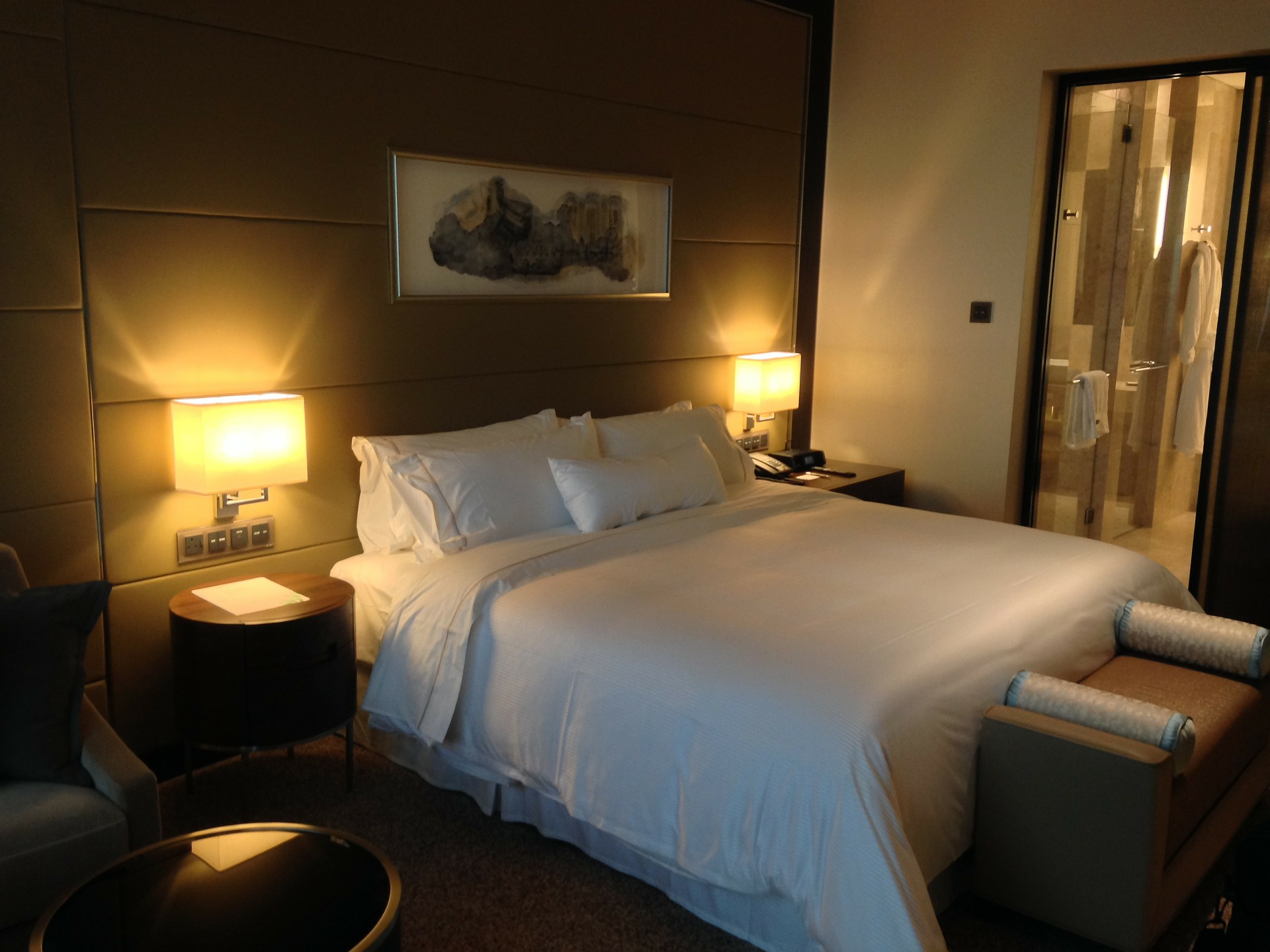 Hotelové posteľné plachty