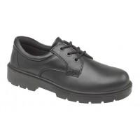 Pracovna obuv v čiernej farbe
