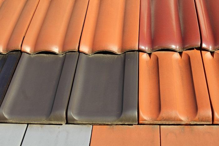 Strešná krytina v rôznych farbách